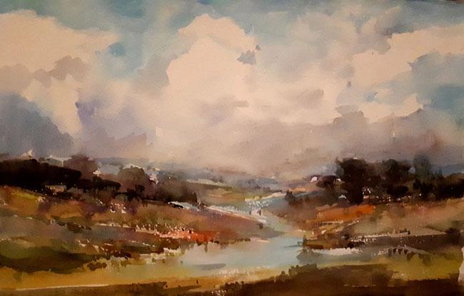 fiume di qashan