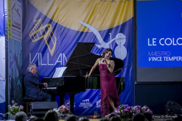 Paola Lavini e Vince Tempera