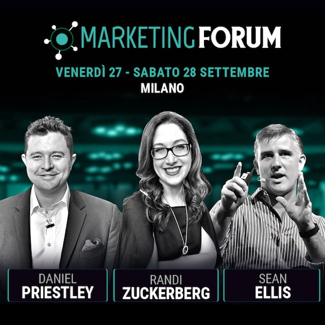 marketing forum milano 27-28 settembre