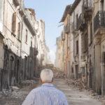 Via Roma, L'Aquila, il giorno dopo il terremoto.