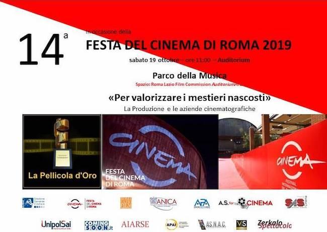 La Pellicola d'oro alla Festa del Cinema di Roma