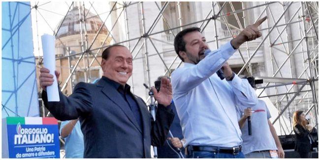 Vertice Forza Italia Lega a metà della settimana, prima del consiglio dei ministri