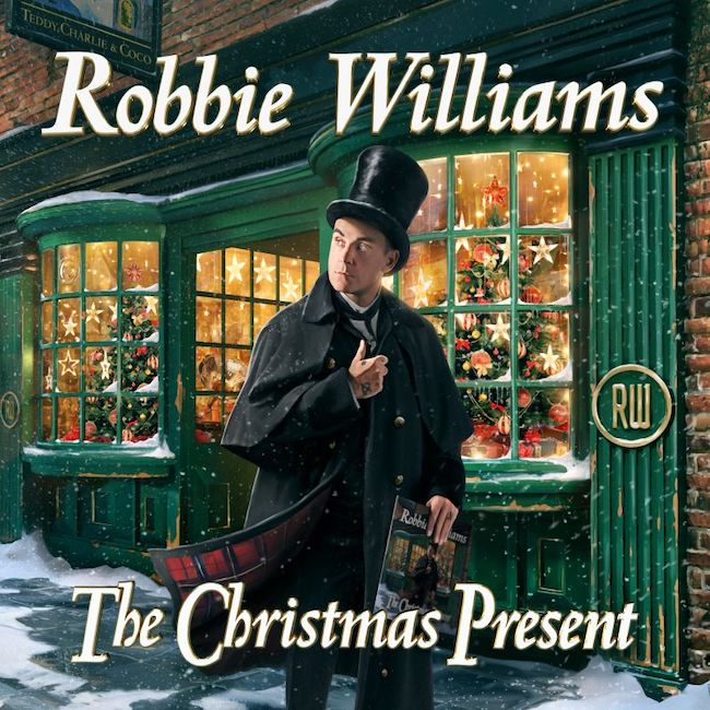 cover the christimas present robbie williams
