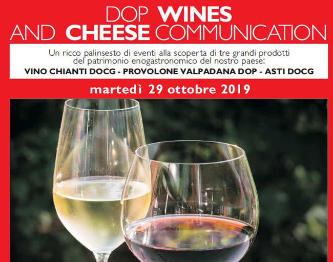 dop wines and cheese communication