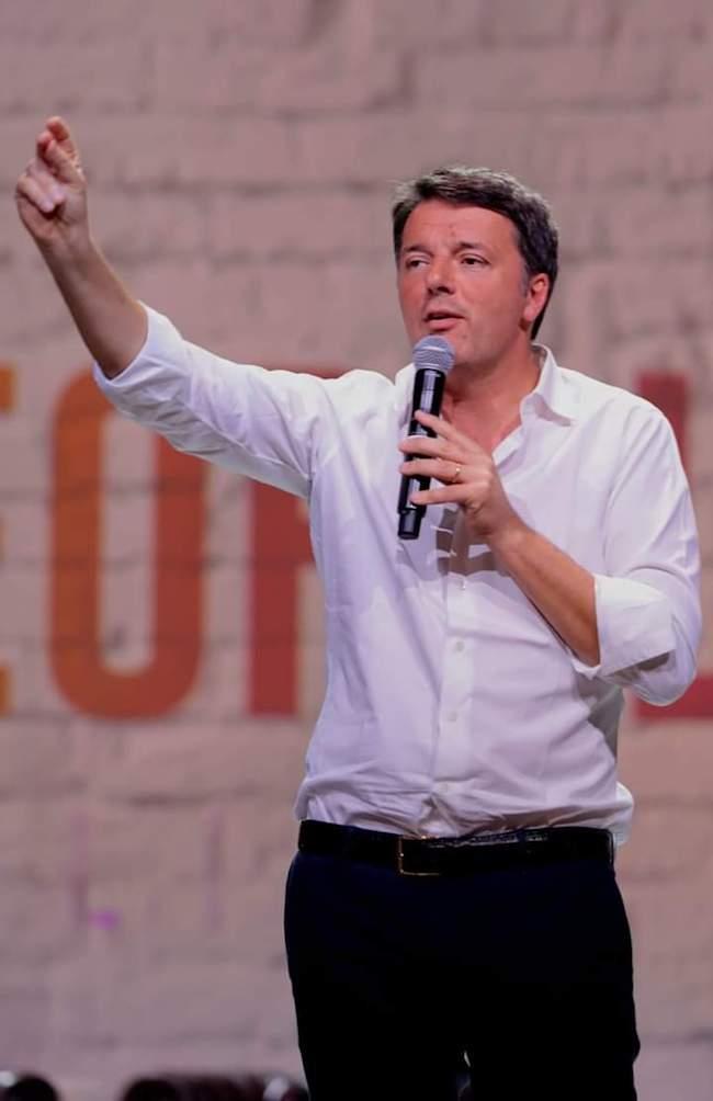 matteo renzi leader italia viva