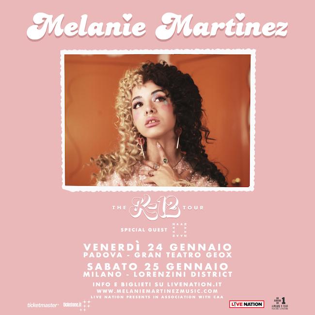 Melanie Adele Martinez in concerto in Italia