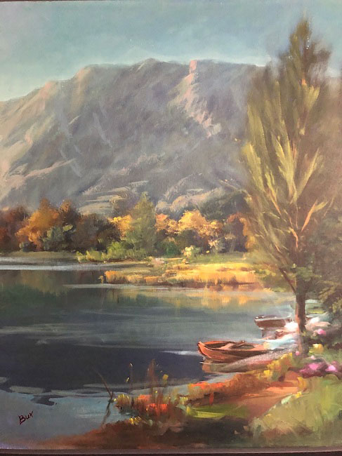 Paesaggio lacustre 3