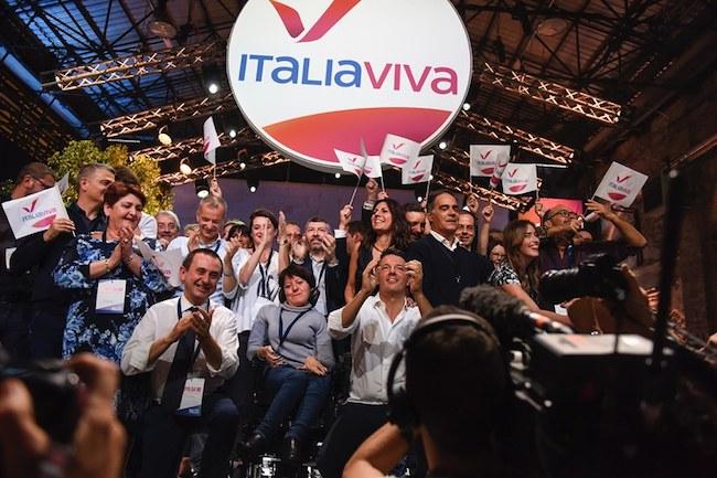 presentazione simbolo italia viva