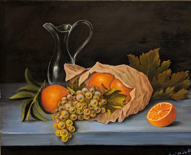Arance ed uva