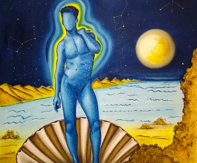 birth of mars on venus