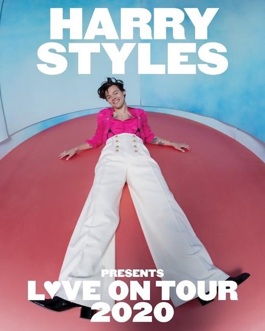 harry styles love on tour 2020