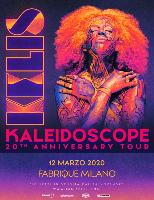 kelis milano 12 marzo 2020