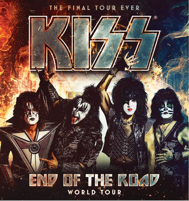 kiss end of the road world tour in Italia a Verona