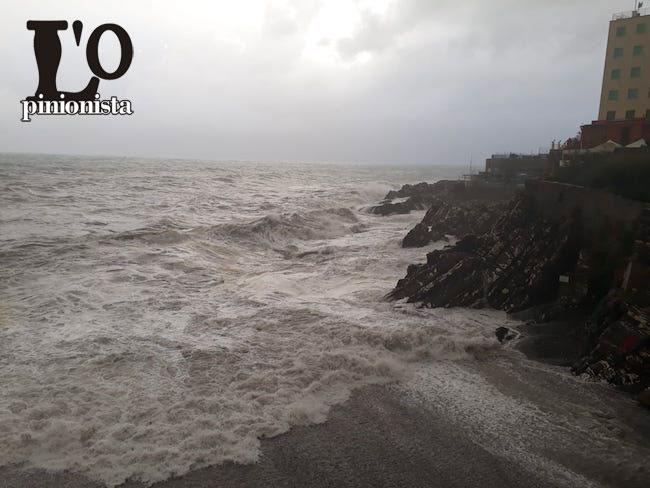 maltempo costa Genova