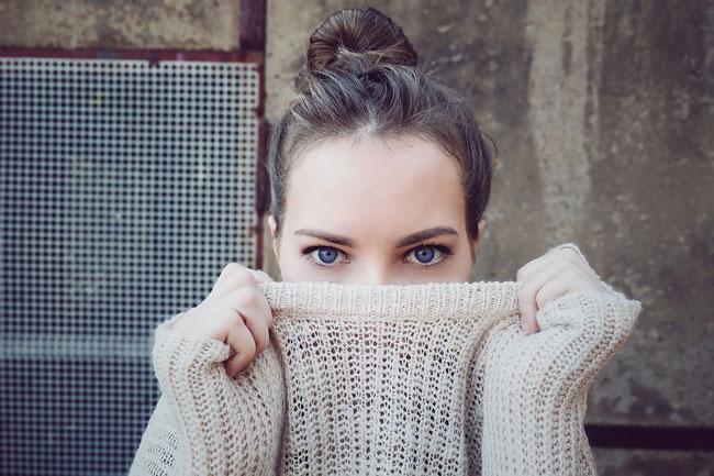 occhi blù