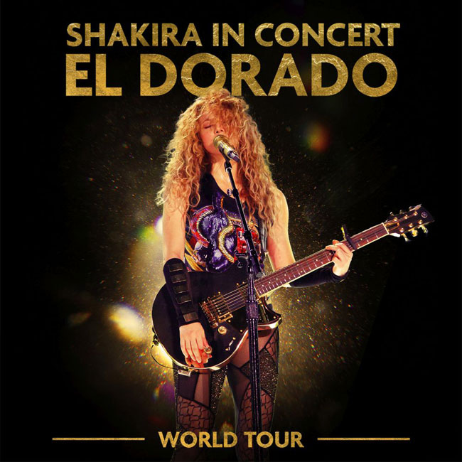 "Shakira arriva l'album ""El Dorado World Tour Live"": la tracklist"