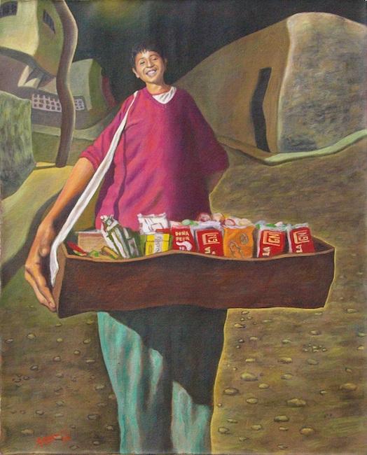 Vendedor de caramelos (Venditore di caramelle)