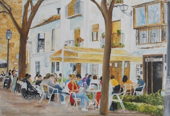 Cafe in Ubeda