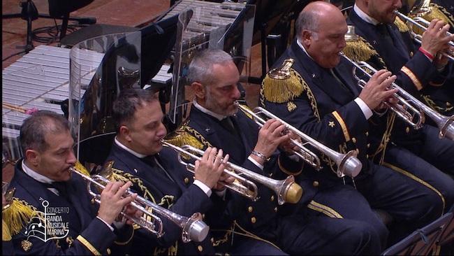 concerto marina militare su tv2000