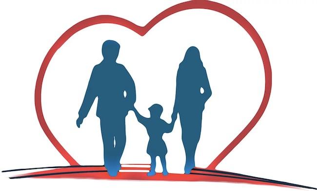 famiglia cuore