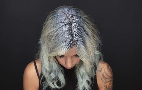 glitter capelli