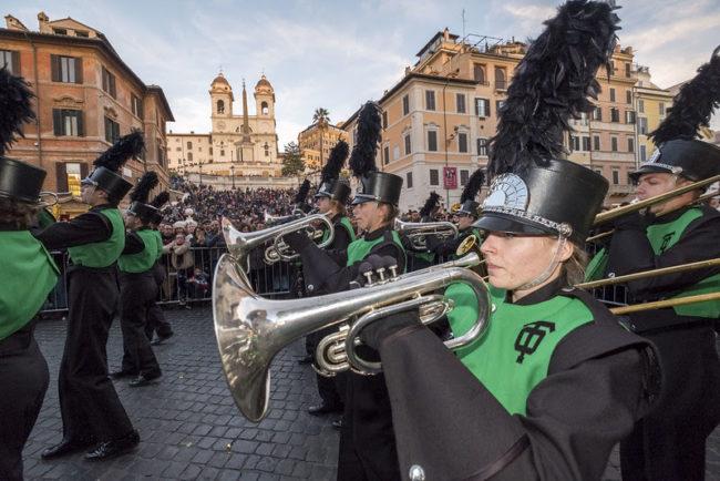A Roma la celebre Parata musicale di Capodanno