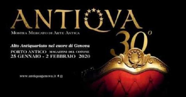 Antiqua 2020, edizione numero trenta al Porto Antico di Genova