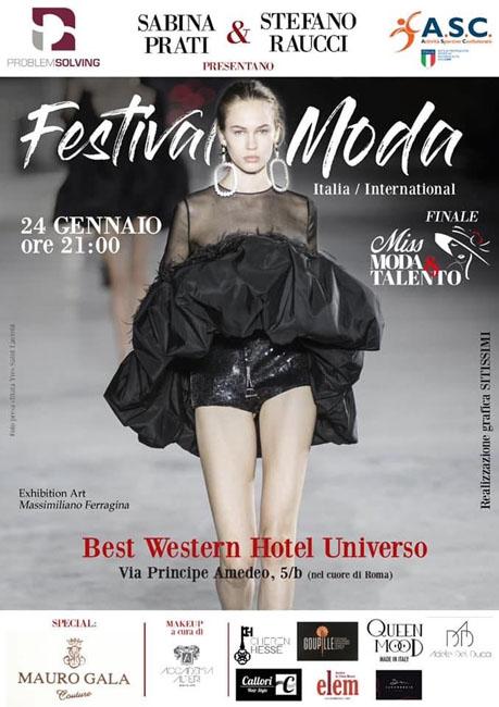 finale festival della moda roma 24 gennaio 2020
