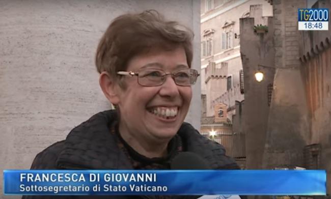 Francesca Di Giovanni a Tv2000