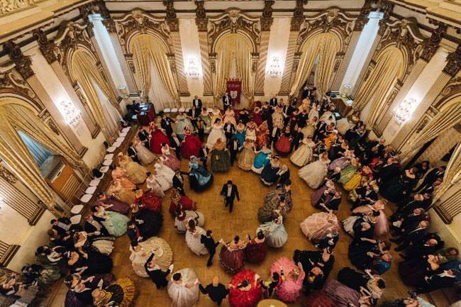 gran ballo palazzo brancaccio roma 11 gennaio 2020