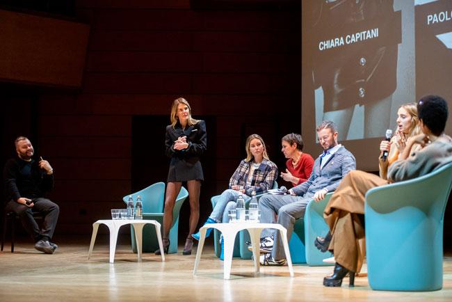 incontro 'Influencing the future - The digital communication in fashion' Milano