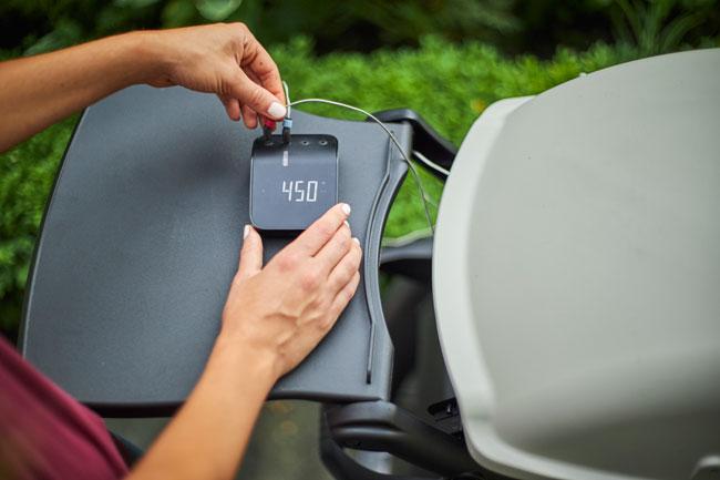 barbecue innovativo weber connect smart grilling hub fahrenheit