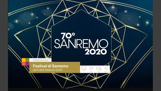 festival di sanremo 2020 logo