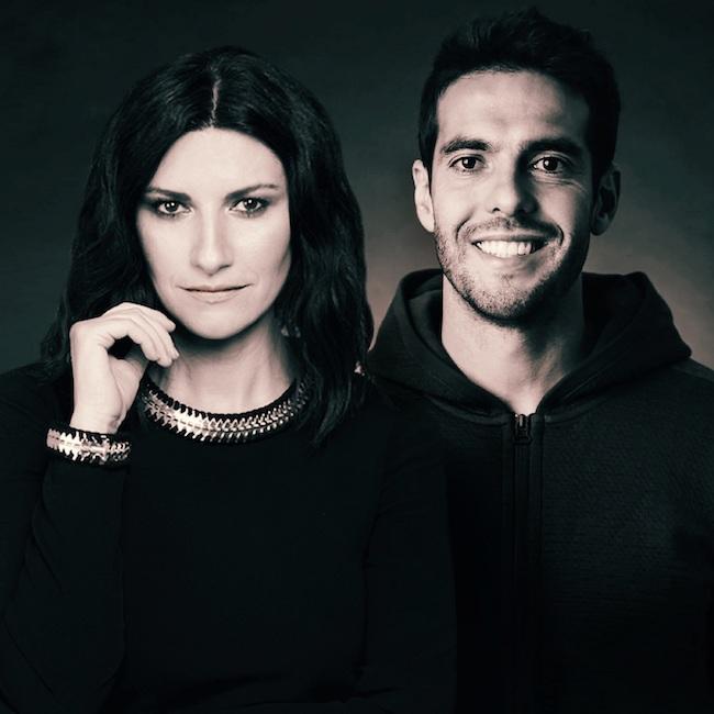 Laura Pausini e Kakà