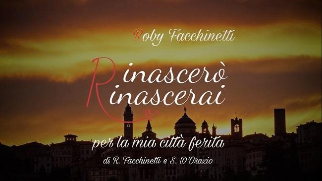 Roby Facchinetti per Bergamo: una preghiera, una dedica, un grazie