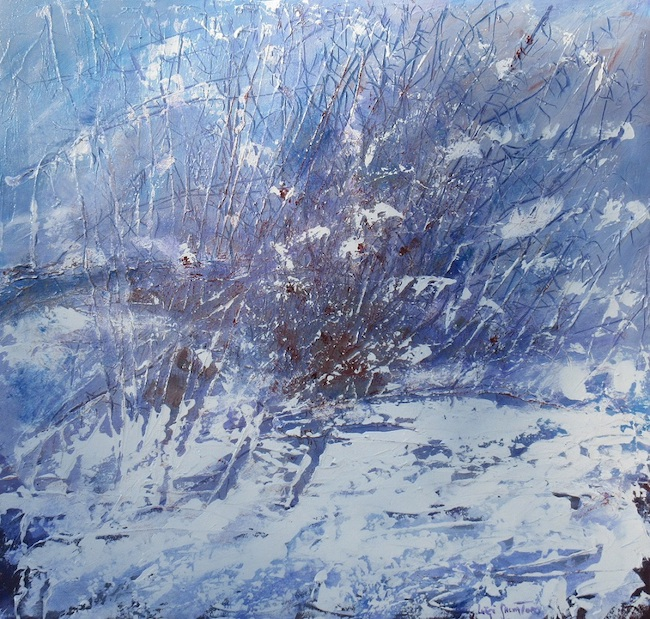 rovo sotto la neve