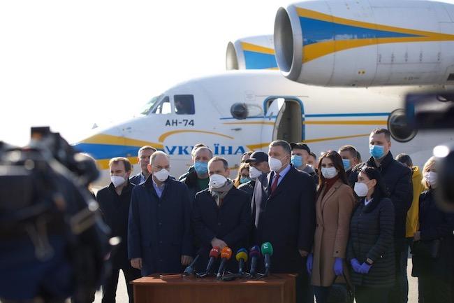 4 aprile 2020 volo in partenza da kyiv