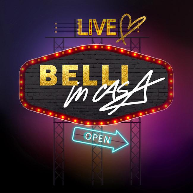 belli in casa live show