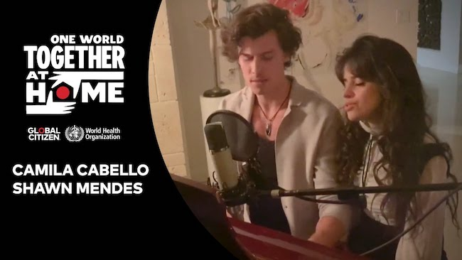 "Camila Cabello & Shawn Mendes cantano ""What a Wonderful World"""