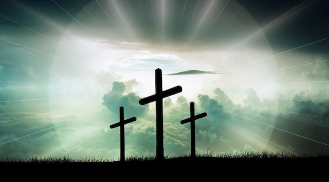 croce luminosa