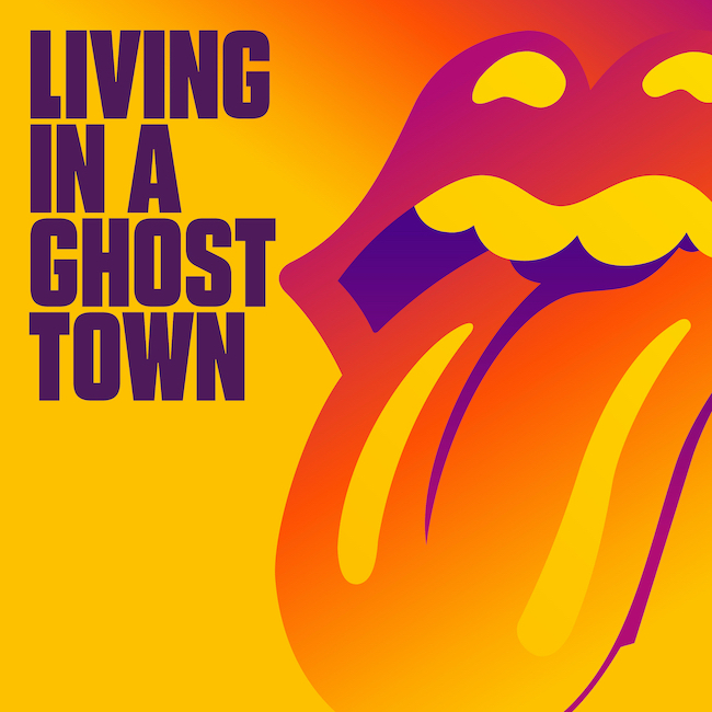 the rolling stones living In a ghost town cover
