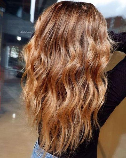 capelli biondo miele
