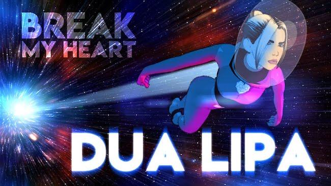 dua lipa break my hearth