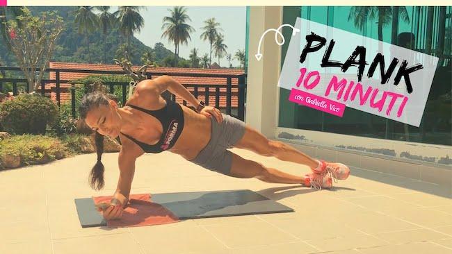 plank 10 minuti
