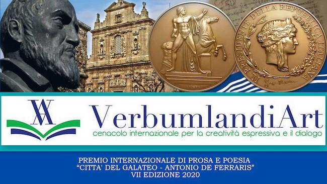 """Premio Letterario """"Città del Galateo - A. Ferraris"""" 2020"""