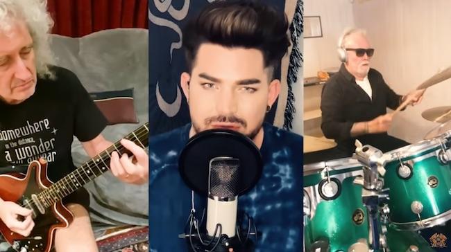 Queen + Adam Lambert: nuova clip per We Are The Champions