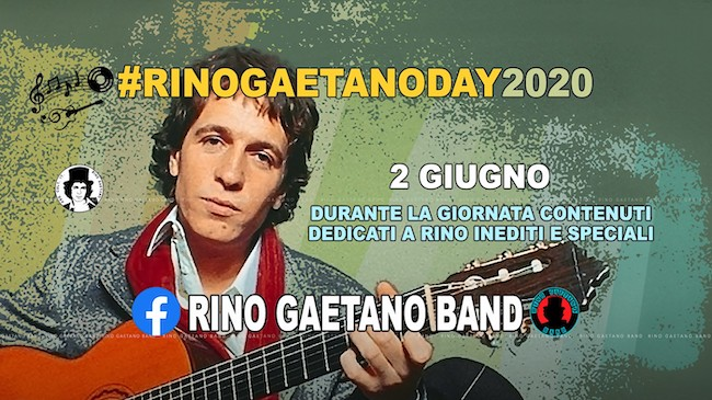 rino gaetano day 2020
