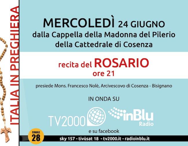 rosario cosenza 24 giugno 2020