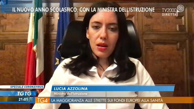 azzolina su tv2000
