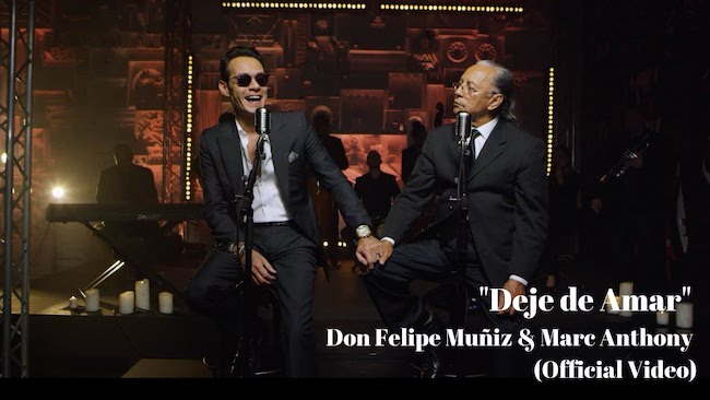"""Deje de Amar"" Don Felipe Muñiz & Marc Anthony"